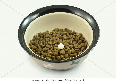Dog Food Supplements Of Dish Oil And Glucosamine For Older Dogs With Arthritis And Dog Athletes For