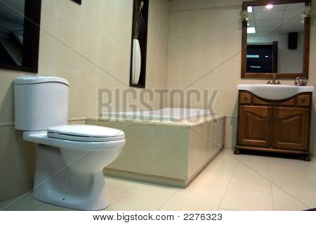 Luxury Bathroom Detail