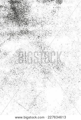 Distressed Overlay Texture Of Natural Leather, Grunge Vector Background. Abstract Halftone Vector Il