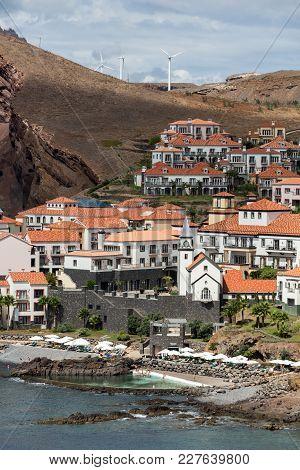 Prainha  Located Near The Breathtaking Area Of Ponta De Sao Lourenço, The Eastern Part Of Madeira, P
