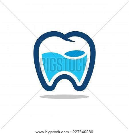 Fresh Tooth Icon, Vector Logo. Suitable For Dental Clinic, Lab, App, Medical Business, Etc. Availabl