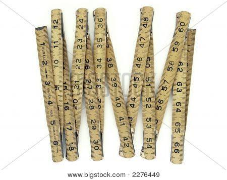 Antique Wooden Ruler
