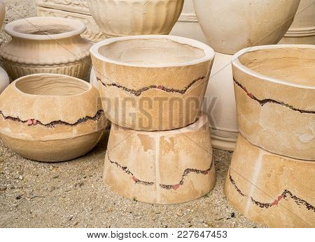 Large Ceramic Terracotta Pots For Sale At Greenhouse