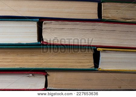 Books Folded A Friend To A Friend. Can Be Used Like Back Background