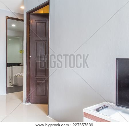 Interior Design In Suite Room Of Hotel Room