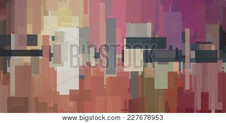 Modern Abstract of lines and squares. Urban style. 3D rendering