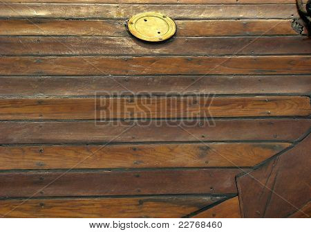Boat wood texture
