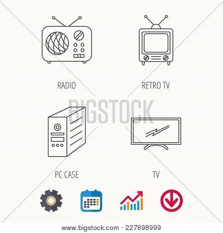 Retro Tv, Radio Pc Vector & Photo (Free Trial) | Bigstock
