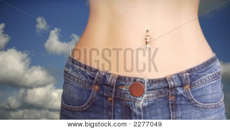 Jeans And Piercing