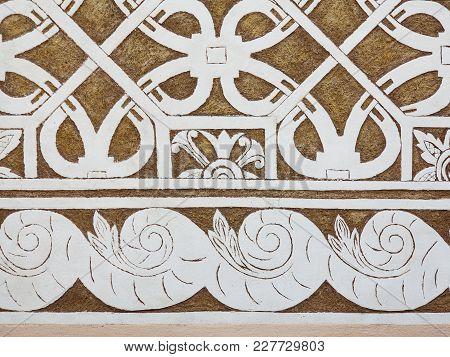 Sgraffito - Renaissance Decoration Of Stucco Of Walls By Scraping