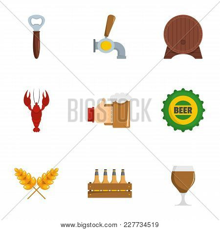Snackbar Icons Set. Flat Set Of 9 Snackbar Vector Icons For Web Isolated On White Background