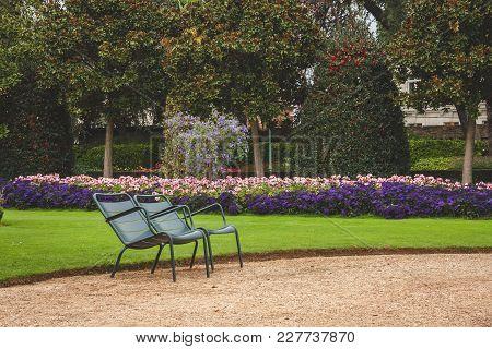 Chairs In Thabor Garden
