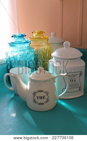 Tea For Teatime - Kitchen Counter - Vertical
