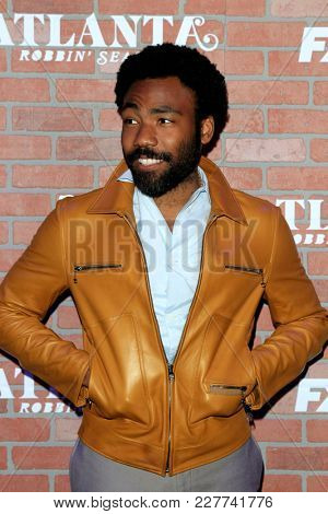 LOS ANGELES - FEB 19:  Donald Glover at the