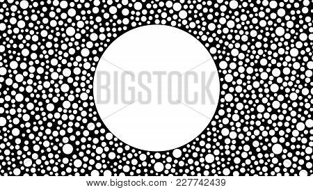 Geometric Background With Space For Text, For Your Advertising, Design, Business Cards, Screen Saver