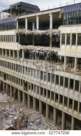 Topic Destruction, Teardown Of An Office Building