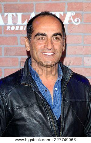 LOS ANGELES - FEB 19:  Navid Negahban at the