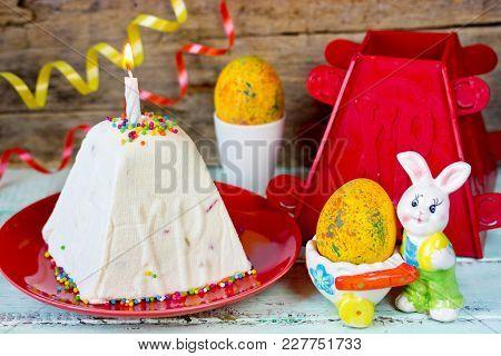 Quark Dessert, Paskha, Russian Easter Sweet Treat