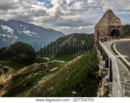 A Spectacular View Of Mountains From The Highest Surfaced Mountain Road In Austria - Grossglockner H