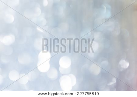 Abstract Colorful Defocused Background Woth Festive Light Bokeh