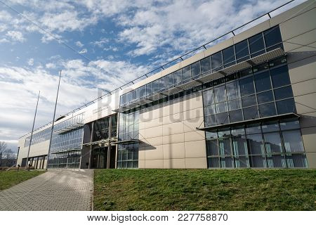 Ostrava, Czech Republic - January 16, 2018: Campus Of Vsb-tuo University In Ostrava, Czech Republic.