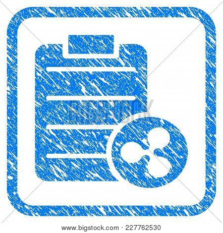 Ripple Price List Rubber Seal Stamp Imitation. Icon Vector Symbol With Grunge Design And Corrosion T