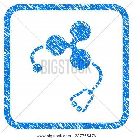 Ripple Health Rubber Seal Stamp Imitation. Icon Vector Symbol With Grunge Design And Dirty Texture I