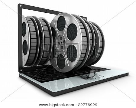 Laptop And Films