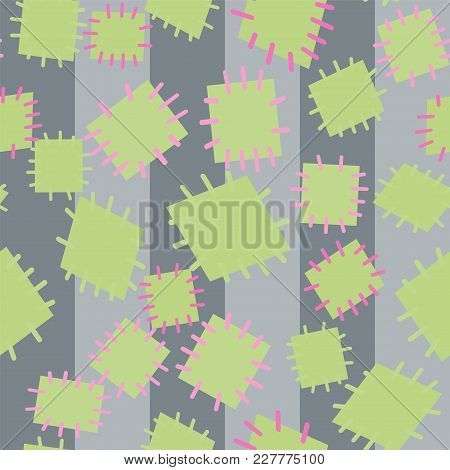 3032259 Seamless Pattern In Color Patches.