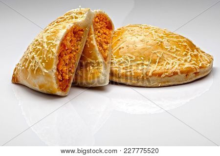 Roasted chicken patty