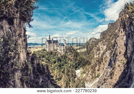 Magical Neuschwanstein Castle In Bavaria, Germany