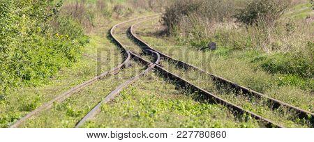 Railway track switch