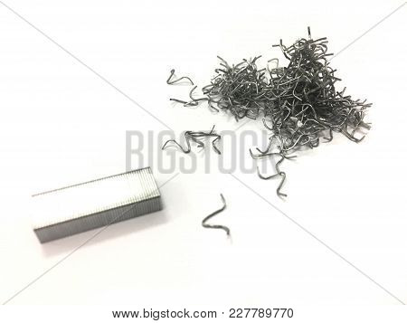 The Many Staples Are Pulled Out Use.