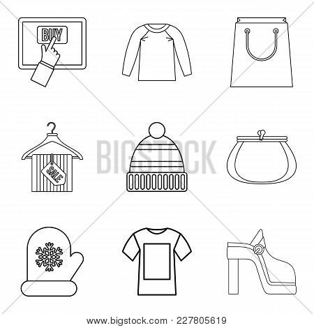 Acquisition Icons Set. Outline Set Of 9 Acquisition Vector Icons For Web Isolated On White Backgroun