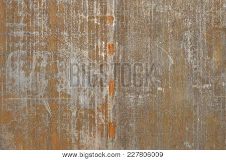Old Rusty Metal Background Ideal As A Texture