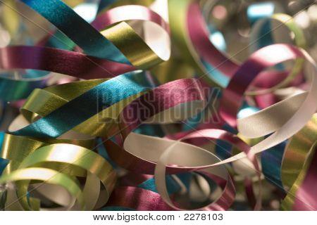Colorful Xmas Ribbons