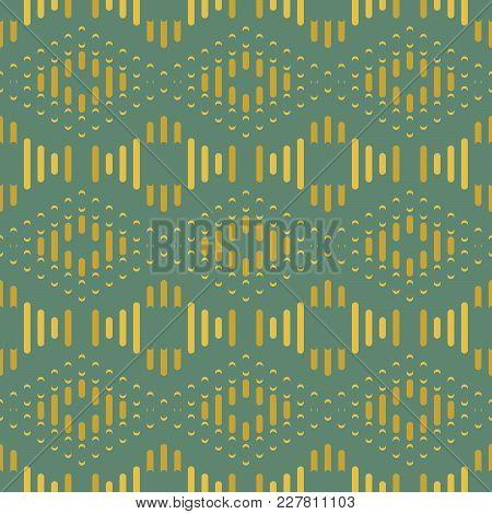 Seamless Background Southeast Asian Retro Aboriginal Traditional Art Textile Pattern Geometry Cross