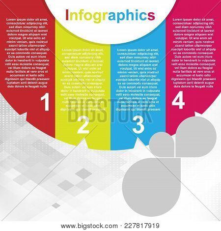 Chart Modern Infographics Illustration Vector Image Design