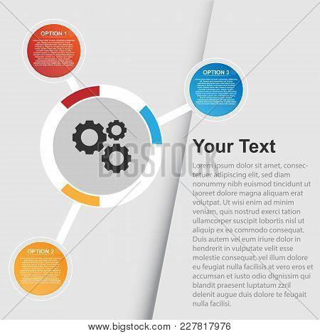Multi Option Infographic Background Illustration Vector Image