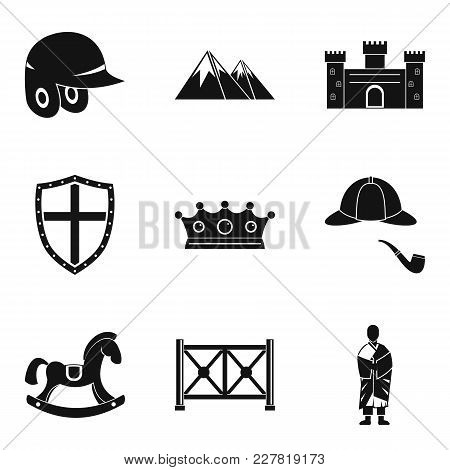 Rider Icons Set. Simple Set Of 9 Rider Vector Icons For Web Isolated On White Background