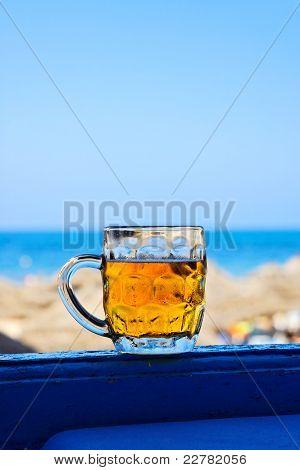 Mug Of Cold Beer.