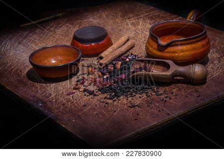Wooden Board For Tea Ceremony