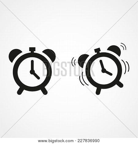 Alarm Clock Icon, Alarm Clock Icon Vector