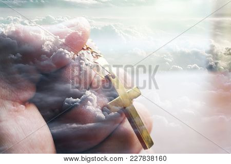 In God We Trust High Quality Stock Photo