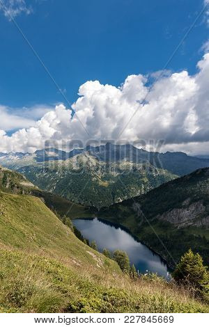 National Park Of Adamello Brenta With The Camp Lake (lago Di Campo) 1944 M. Trentino Alto Adige - It