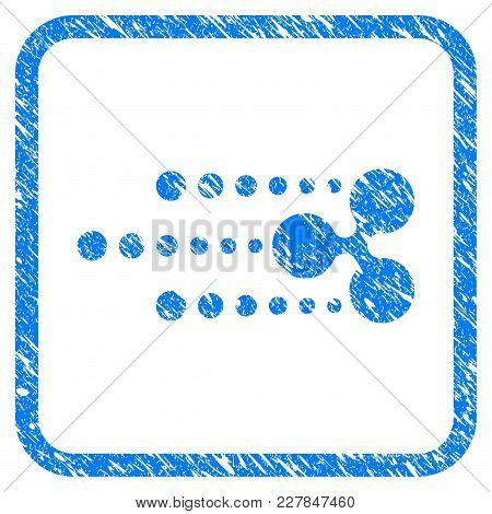 Ripple Track Rubber Seal Stamp Watermark. Icon Vector Symbol With Grunge Design And Dirty Texture In