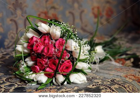 Bouquet Of Flowers Of The Bride