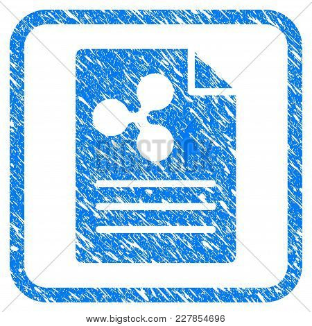 Ripple Prices Rubber Seal Stamp Watermark. Icon Vector Symbol With Grunge Design And Dirty Texture I