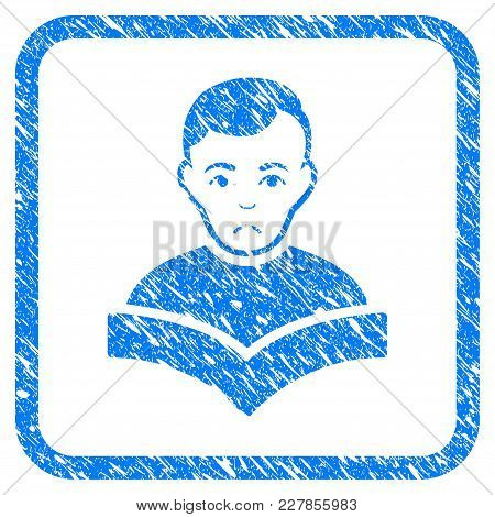 Student Rubber Seal Stamp Watermark. Icon Vector Symbol With Grunge Design And Dust Texture Inside R
