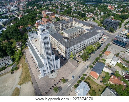 Christ's Resurrection Church In Kaunas, Lithuania